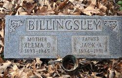 Xlema O <i>Oglesby</i> Billingsley