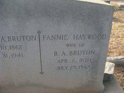 Fannie <i>Haywood</i> Bruton