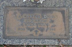 Pvt Lewis Carter Deal