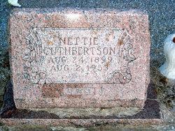 Nettie <i>Hicks</i> Cuthbertson