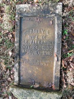 Charity Elizabeth <i>Yokley</i> Alexander