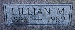 Lillian Marie <i>Galster</i> Amann