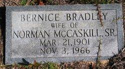 Bernice <i>Bradley</i> McCaskill