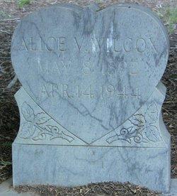 Alice V <i>Carter</i> Wilcox