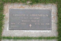 Adolph L Ahrendsen