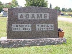 Virgie S <i>Newberry</i> Adams