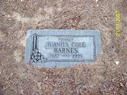 Juanita <i>Cole</i> Barnes