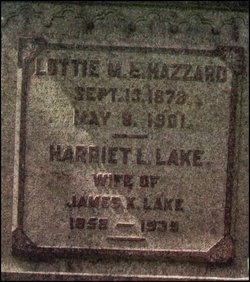Harriet Louise <i>Rice</i> Lake