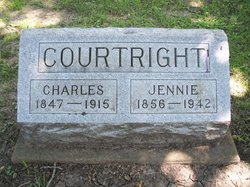 Jennie <i>Fairfield</i> Courtright