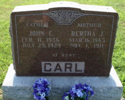 Bertha J <i>Hampshire</i> Carl