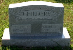 Caroline Francis Carrie <i>Carter</i> Childers