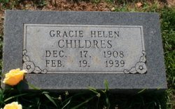 Gracie Helen <i>Gold</i> Childers