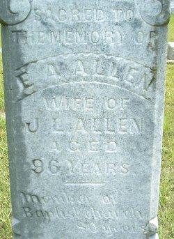 Elizabeth Ann <i>Riley</i> Allen