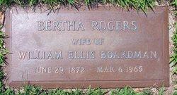 Bertha <i>Rogers</i> Boardman