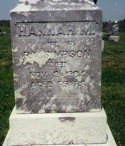 Hannah Margaret <i>Simpson</i> Simpson