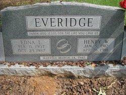 Henry W Everidge