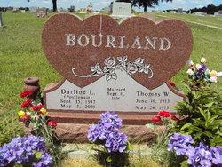 Mrs Darline L. <i>Postlewait</i> Bourland