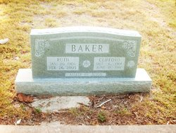 Minnie Ruth Ruth <i>Massey</i> Baker
