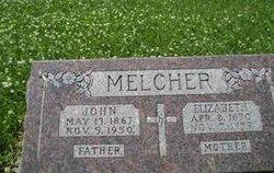 Elizabeth Lizzie <i>Winkler</i> Melcher
