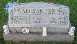 Harriet Alice <i>Daniels</i> Alexander