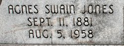 Agnes Sophia <i>Swain</i> Jones