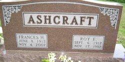 Frances H. <i>Gault</i> Ashcraft