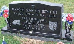 Harold Morton Morty Boyd, III