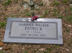 Harriet <i>Walker</i> Patrick