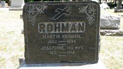 Mary Josephine <i>Reichert</i> Rohman
