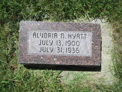 Alvoria Narrissa <i>Beals</i> Hyatt