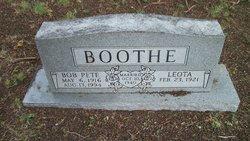 Bob Pete Boothe