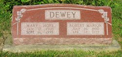 Mary Hope <i>Farber</i> Dewey