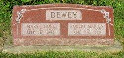 Robert Marion Dewey