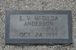 Elizabeth Victoria <i>McDilda</i> Anderson