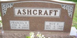 Roy Edward Ashcraft