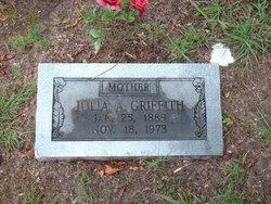 Julia <i>Kemp</i> Griffith