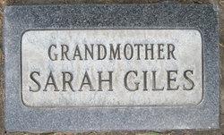 Sarah <i>Huskinson</i> Giles