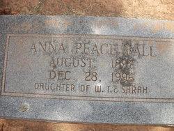 Anna <i>Peace</i> Ball