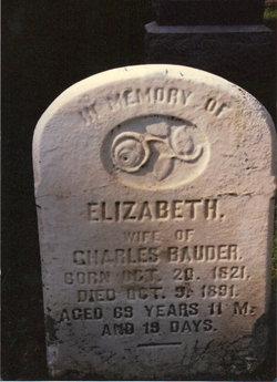 Elizabeth <i>Kline</i> Bauder