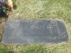 Marie L. <i>Frenzel</i> Stacey