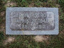 Sarah Frances <i>Stricker</i> Strole