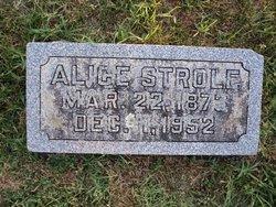 Alice P. Pollyanna Allis <i>Strole</i> Huffman