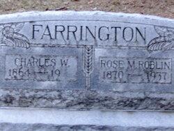 Rose M. <i>Roblin</i> Farrington