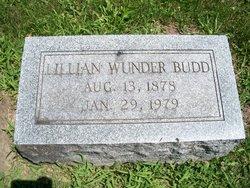 Lillian Mae <i>Wunder</i> Budd