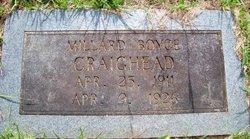 Millard Boyce Craighead