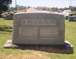 Calvin Denton Cab Anderson