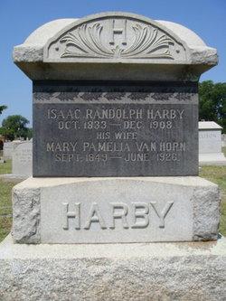 Mary Pamelia <i>Van Horn</i> Harby