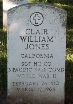 Clair William Buck Jones