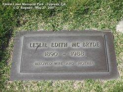Leslie Edith <i>Torbett</i> McBryde