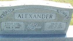 Edna Lou Alexander